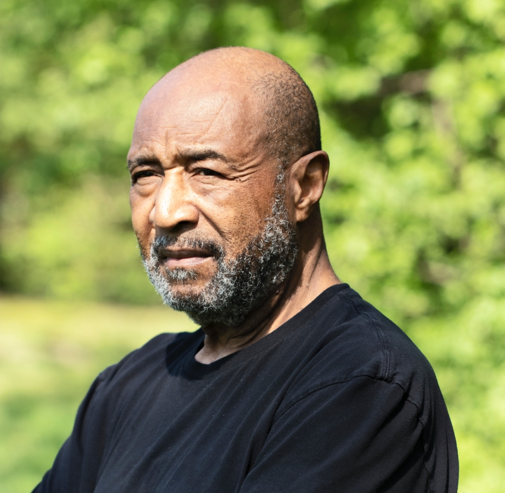 Portrait of older man with contemplative expression